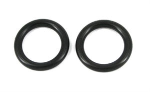 O-ringe, Fingerring 14 mm indv. 2 stk.
