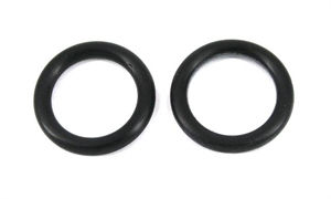 O-ringe, Fingerring 15 mm indv. 2 stk.