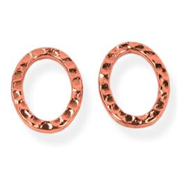 Banket oval ringe 10 x 14 mm, 2 stk.