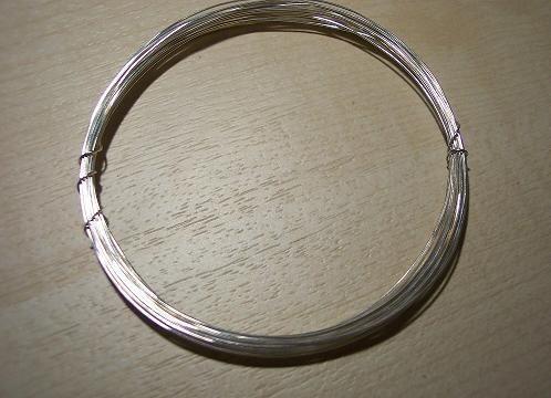 sterling sølv tråd