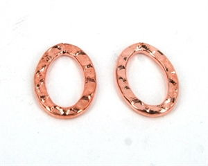 Banket oval ringe 10 x 14 mm<br><b>2 stk.</b>