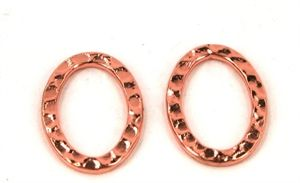 Banket oval ringe 13 x 18 mm<br><b>2 stk.</b>