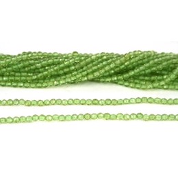 3 mm Peridot facet 1/1 streng